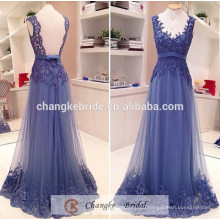 High Quality Prom Bridesmaid Dress Purple Backless Lace Custom Made Bridesmaid Dresses with Applique