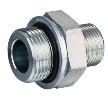 Adaptateur hydraulique BSP Mâle Double 60Degrees Cone Seat