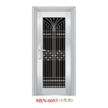 Door /Stainless Steel Door /Entrance Door/ Son and Mother (6621)