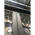 Puerta de hierro de acero exterior de seguridad al mejor precio
