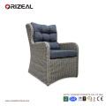 Открытый ротанга высокого 4шт задний диван набор OZ-OR064