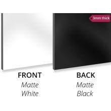 Aluminium composite panel board White