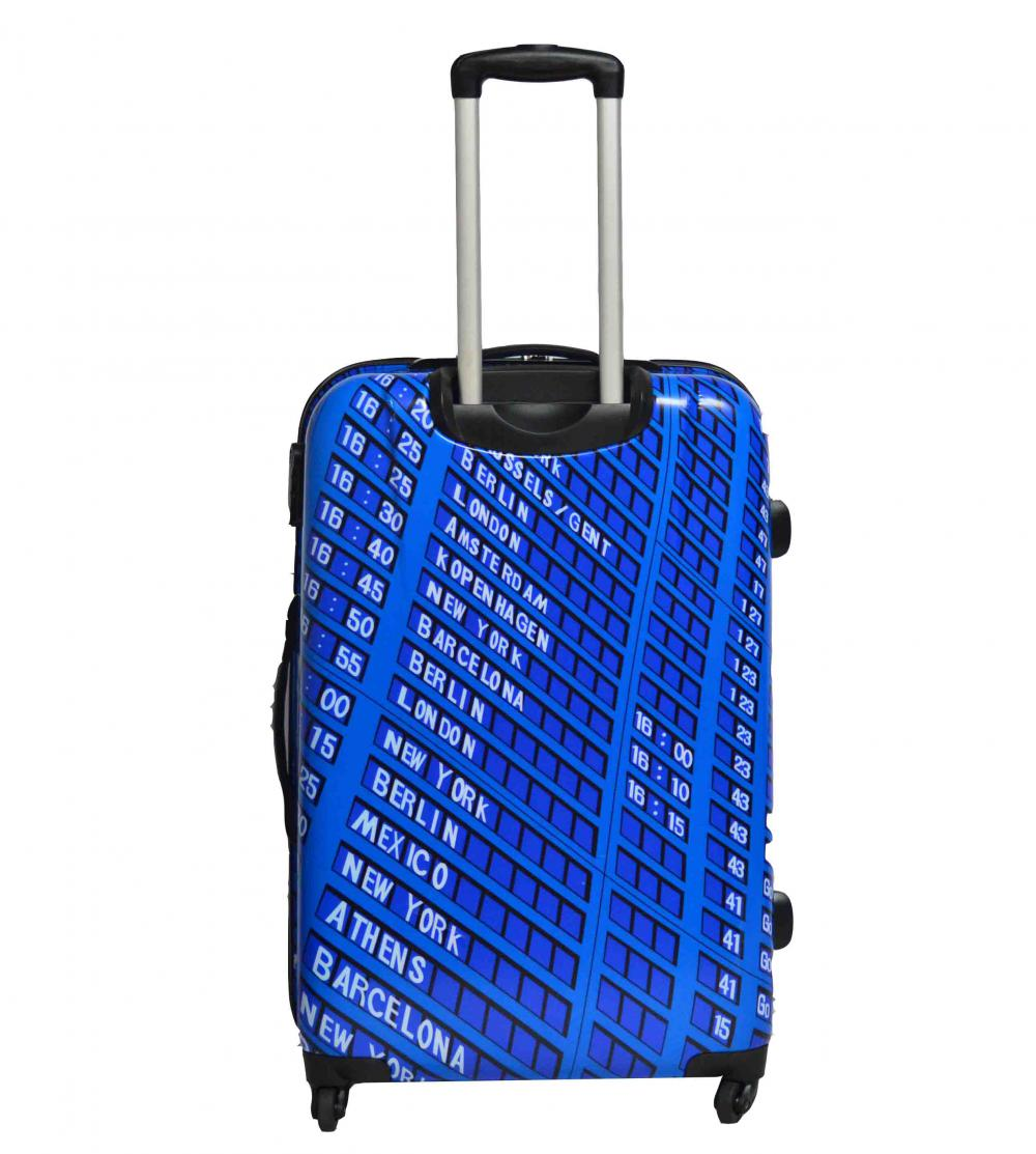 100%PC Printing Luggage Set with Good Lining