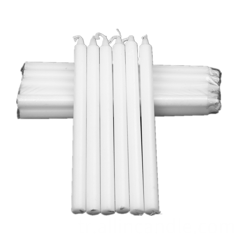 White Household Candles