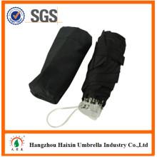 Neueste Design Mini 5 fach Regenschirm mit EVA Case