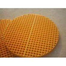 Rejilla de fibra de vidrio pultruida FRP / GRP con alta calidad