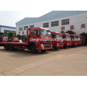 FAW 4X2 Flat-Bed Trailer Truck Venta caliente