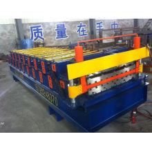 Baumaterial-Roofing-Blatt-Rolle, die Maschine bildet
