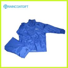 190t Polyester Waterproof Rain Jacket Motorcycle Raincoat Rpy-038
