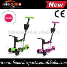CE-Zulassung Kinder Einstellbare Kick Roller / Kick Kick Roller Räder / Großhandel billig Kick Koo Roller