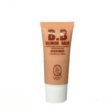tubos de metal oval vazio oval cosmético bb creme tubo de embalagem
