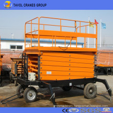 Vertical Hydraulic Mobile Scissor Lift, Aerial Work Platform