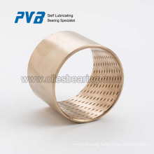 WB606550 Plain bearing bush bronze,low maintenance