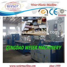 90/25 Single screw extruder for PVC WPC wall profile make
