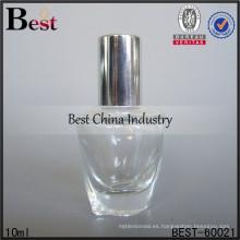 Molde de perfume de botellas de vidrio 10ml; botellas de aceite de perfume de venta caliente en dubai; botella de vidrio superventas en los Emiratos Árabes Unidos