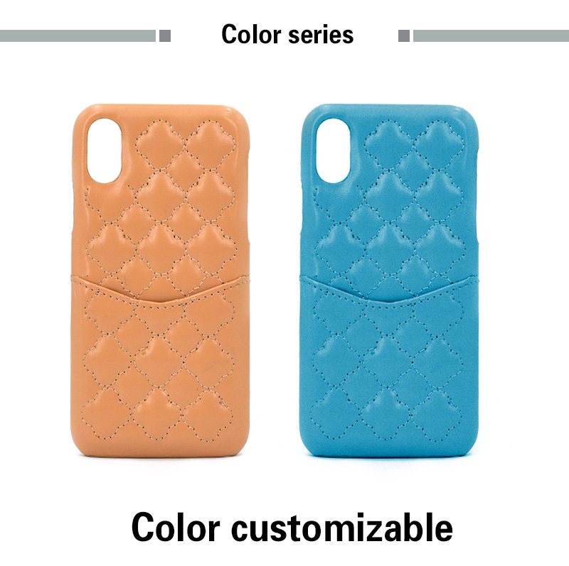 Wholesale Customized Slim PU Leather Card Slot Wallet Phone Case