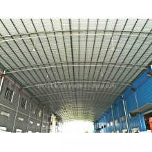 Große Spanne Low Cost Round Tube Stahlrahmen Gebäude mit C Section Purlin