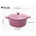 Чугунная эмаль кухонная посуда / горшок для кастрюль