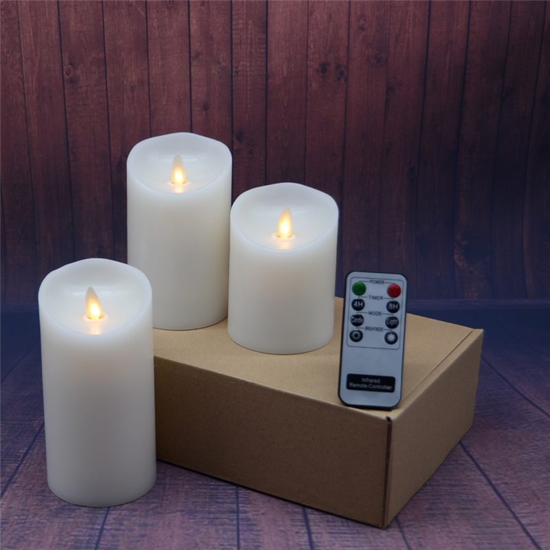 moving flame dacing wick led candles20