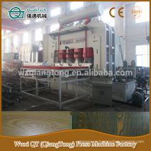 YX1800-6 * 9 laminado de ciclo corto máquina de prensa caliente / 1830 * 2750mm laminado de melamina máquina de prensa
