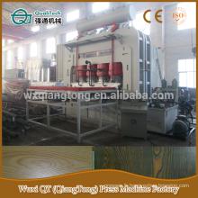 YX1800-6 * 9 machine à presser à chaud à laminage à cycle court / machine de presse à laminé à mélamine 1830 * 2750mm