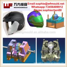 Taizhou injection Motorcycle helmet mould manufacture/OEM Custom plastic motorcycle helmet visor mould