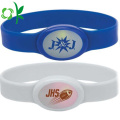 Embossed Logo Power Bracelet Bands med energimärke