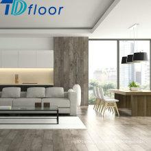 5 mm de madeira de pedra cor de cristal Handscraped superfície solta Lay luxo PVC prancha piso de vinil