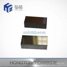 Tungsten Carbide Plate with One Face Grooved
