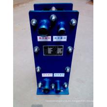 Intercambiador de calor de placas Swep Gx60 de fabricación en China para la industria alimentaria