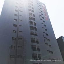 Dekorations-Material-gewölbte Aluminiumblatt-Dach-Fassade