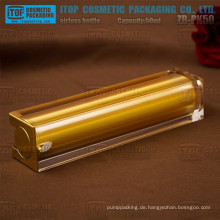ZB-PK50 50ml gute Qualität Druckpumpe Lotion Quadrat Doppelschichten airless Kosmetik Flaschen 50ml