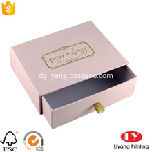 Luxury customized jewelry gift packaging drawer box