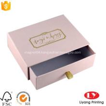 Luxury customized jewelry gift packaging drawer box