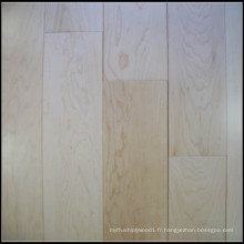 Plancher en bois d'érable solide pour l'usage d'intérieur