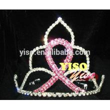 Linda jóia de cabelo jóia de cristal de strass tiara