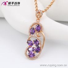 Mode élégant Nice -Quality femmes bijoux en or alliage collier chaîne avec diamant -42881