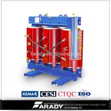 SCB10 transformador de tipo seco con resina fundida 34.5 con precio