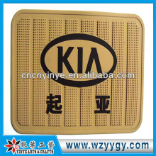 Personalizado design pvc macio antitapete antiderrapante para carro