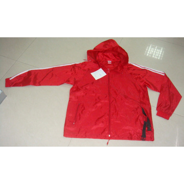 Ladies Polyester Windbreaker