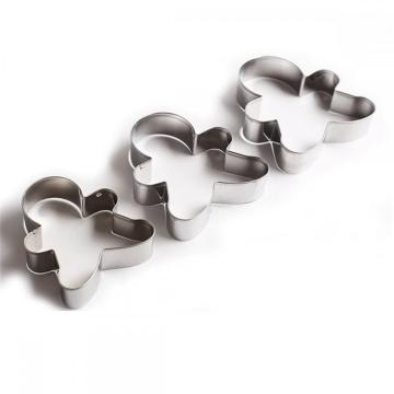 stainless steel human shape biscuit cookie cutter