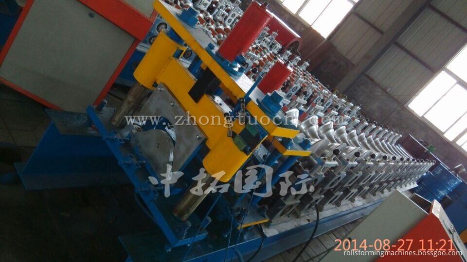 Metal Ridge Cap Tile Making Machine 02