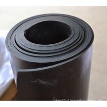 Folha de borracha NBR preta resistente a óleo