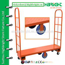 warehouse steel narrow aisle platform truck