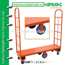 Складская стальная платформа для узкого прохода