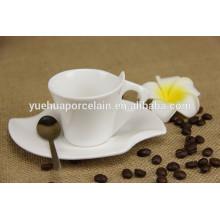 Chaozhou porcelana mini taza y platillo
