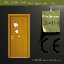Heat-transfer wood doors polish color design