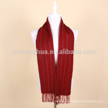 bufanda de lana roja vino hombres