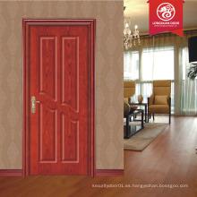 Abeto puerta sólida puerta contra incendios UL puertas certificadas madera solo diseño puerta principal