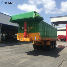 Semi Dump Trailer Kapazität End Dump Truck Kapazität